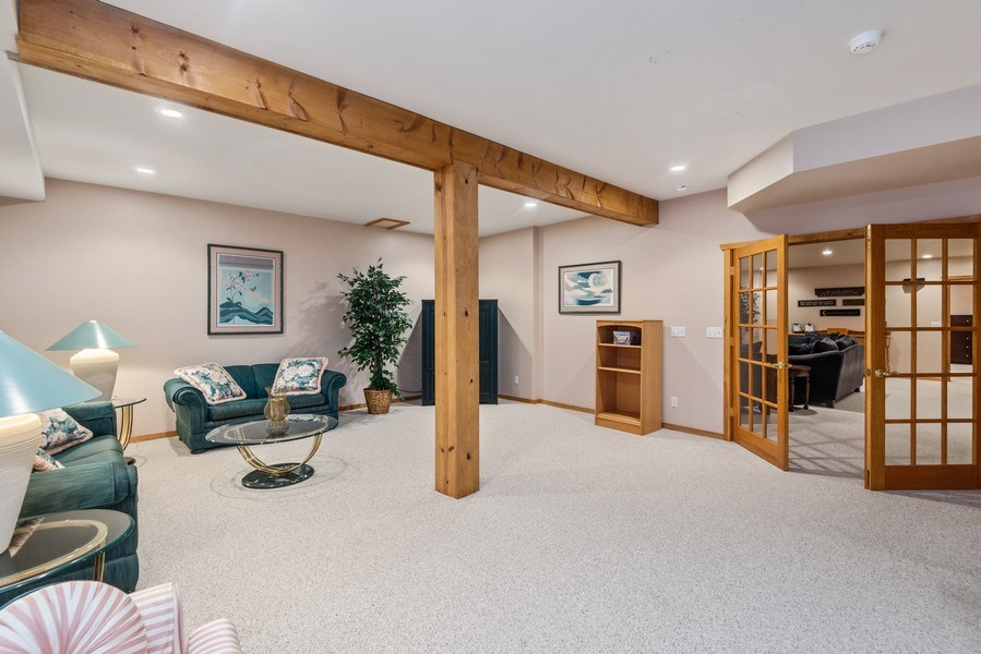 Real Estate Photography - 47644 Lakeview Drive, Lawrence, MI, 49064 - Lower Level