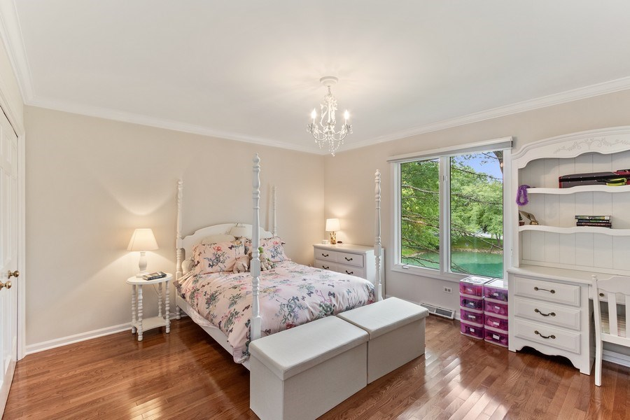 Real Estate Photography - 1291 Estate Ln, Lake Forest, IL, 60045 - 2nd Bedroom