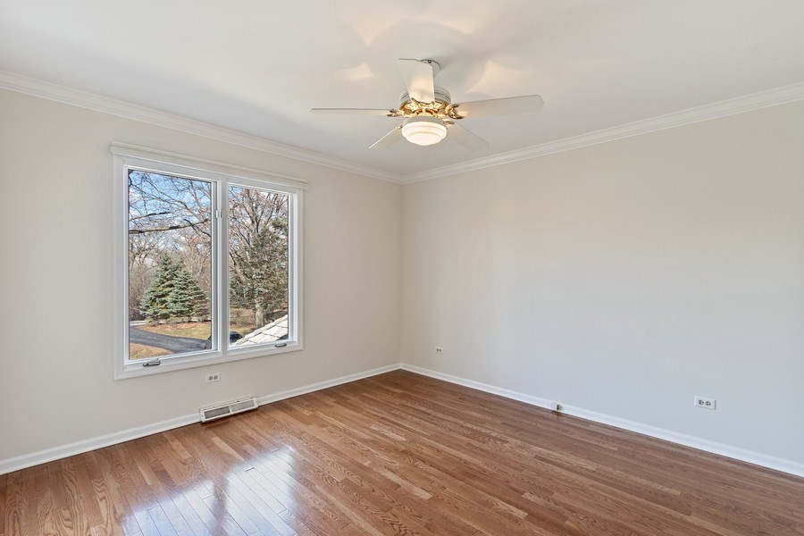 Real Estate Photography - 1291 Estate Ln, Lake Forest, IL, 60045 - 3rd Bedroom