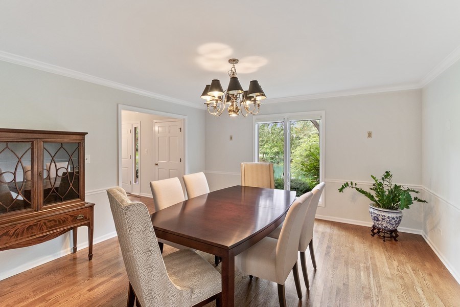 Real Estate Photography - 1291 Estate Ln, Lake Forest, IL, 60045 - Dining Room
