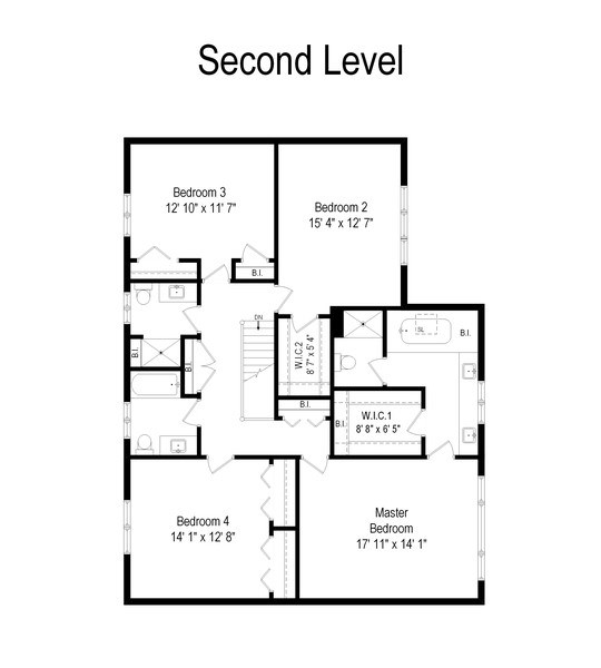 Real Estate Photography - 1291 Estate Ln, Lake Forest, IL, 60045 - Floor Plan
