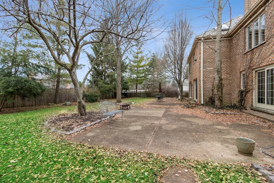 Real Estate Photography - 1291 Estate Ln, Lake Forest, IL, 60045 - Patio