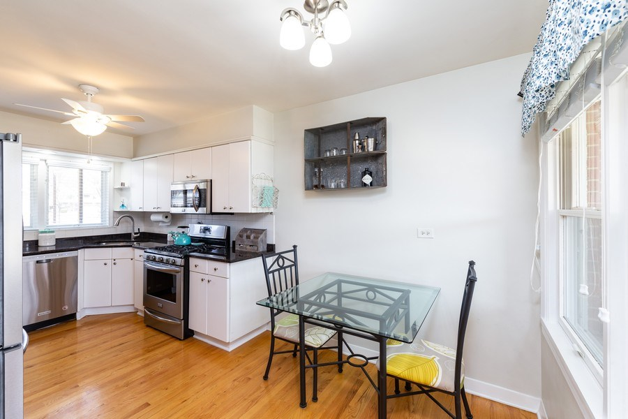 Real Estate Photography - 702 S Chestnut, Arlington Heights, IL, 60005 - Kitchen / Breakfast Room