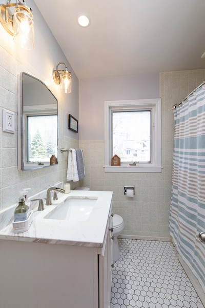 Real Estate Photography - 702 S Chestnut, Arlington Heights, IL, 60005 - Bathroom