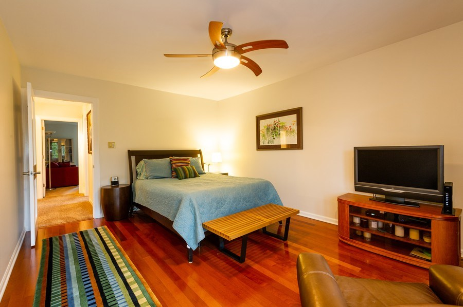 Real Estate Photography - 1561 Winnetka Rd, Glenview, IL, 60025 - Master Bedroom