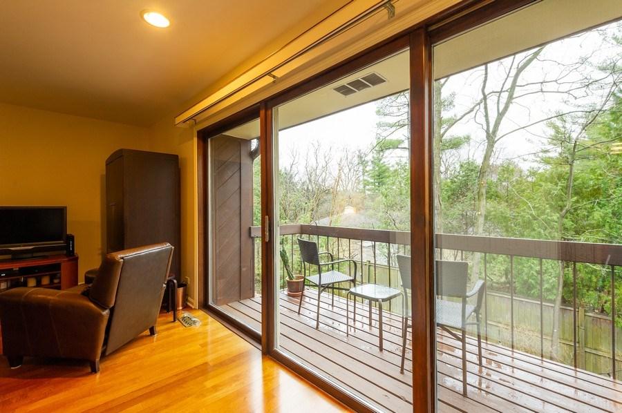 Real Estate Photography - 1561 Winnetka Rd, Glenview, IL, 60025 - Balcony