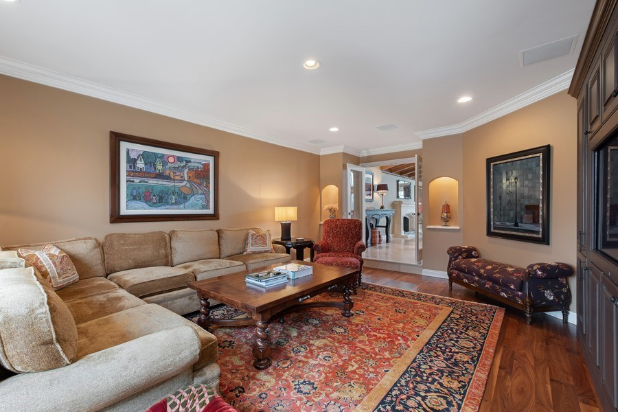Real Estate Photography - 3605 Pebble Beach, Northbrook, IL, 60062 - Media Room