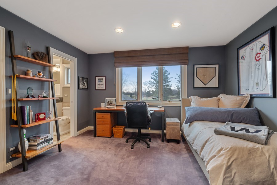 Real Estate Photography - 3605 Pebble Beach, Northbrook, IL, 60062 - 4th Bedroom