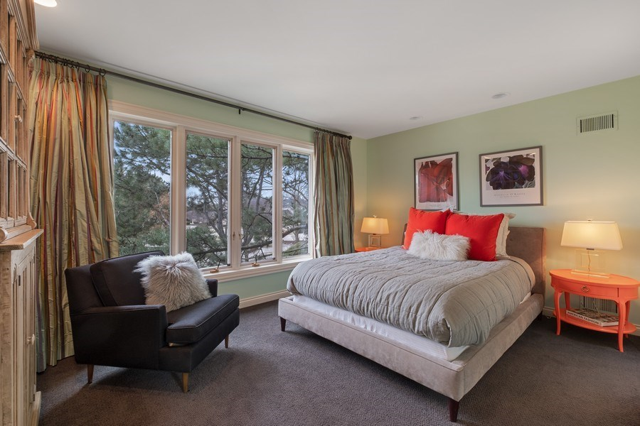 Real Estate Photography - 3605 Pebble Beach, Northbrook, IL, 60062 - 2nd Bedroom Ensuite