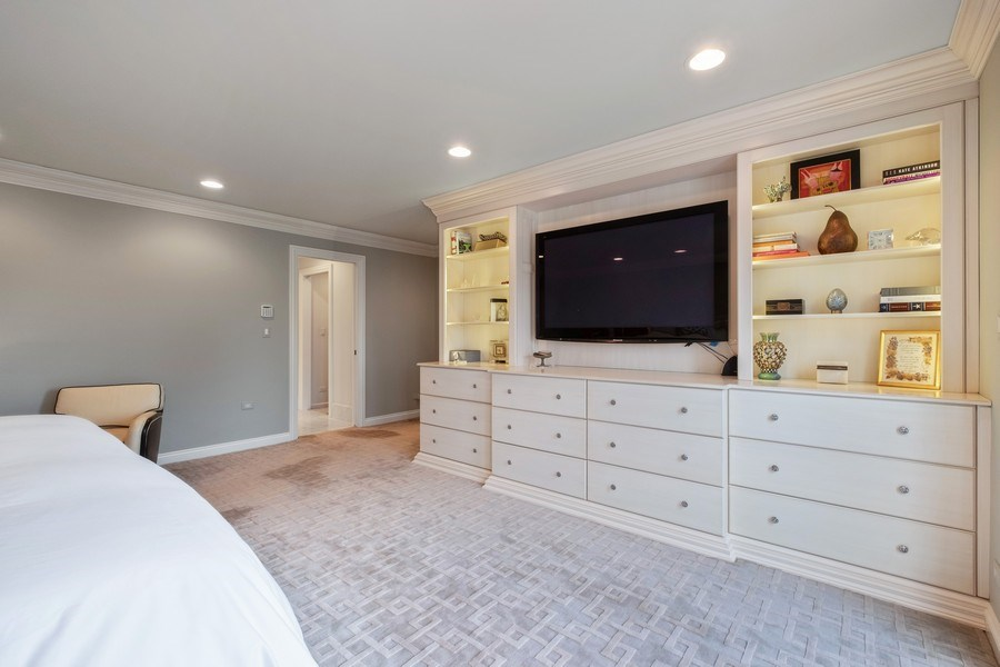 Real Estate Photography - 3605 Pebble Beach, Northbrook, IL, 60062 - Master Suite