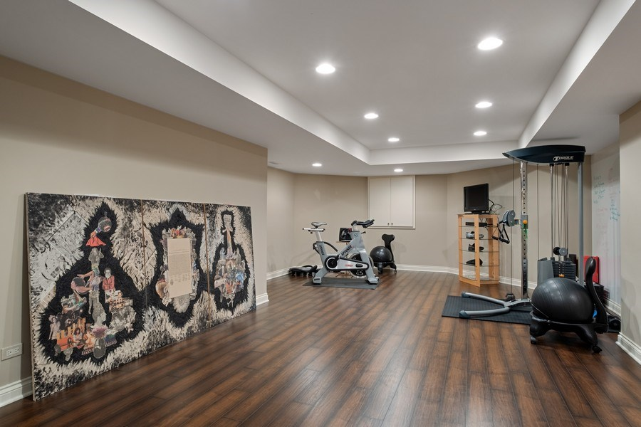 Real Estate Photography - 3605 Pebble Beach, Northbrook, IL, 60062 - Exercise Room
