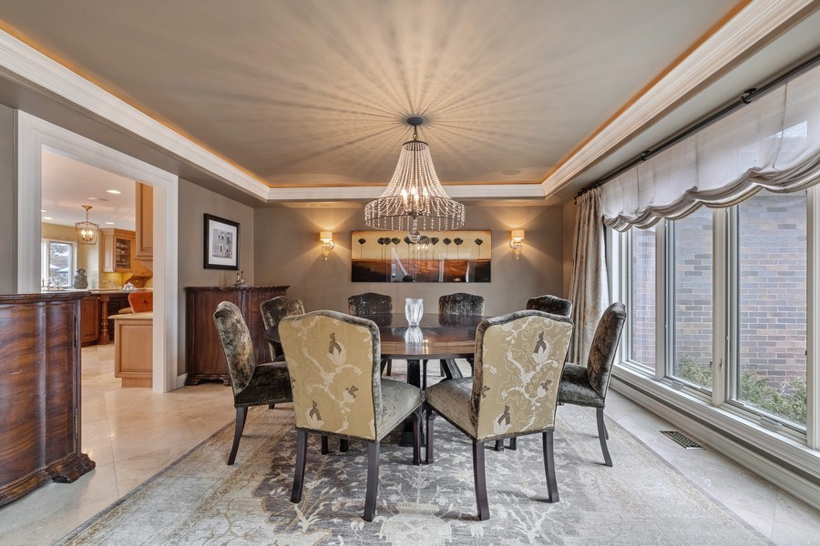 Real Estate Photography - 3605 Pebble Beach, Northbrook, IL, 60062 - Dining Room