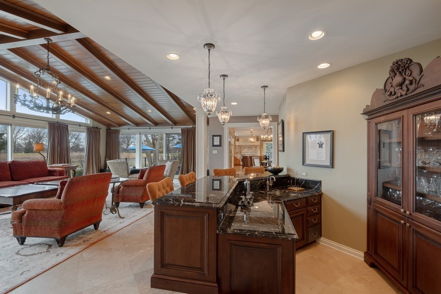 Real Estate Photography - 3605 Pebble Beach, Northbrook, IL, 60062 - Great Room