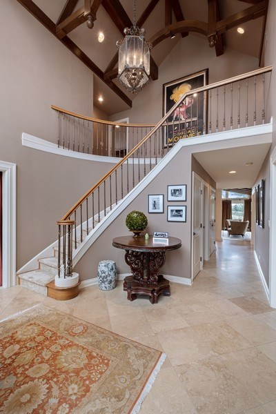 Real Estate Photography - 3605 Pebble Beach, Northbrook, IL, 60062 - Foyer