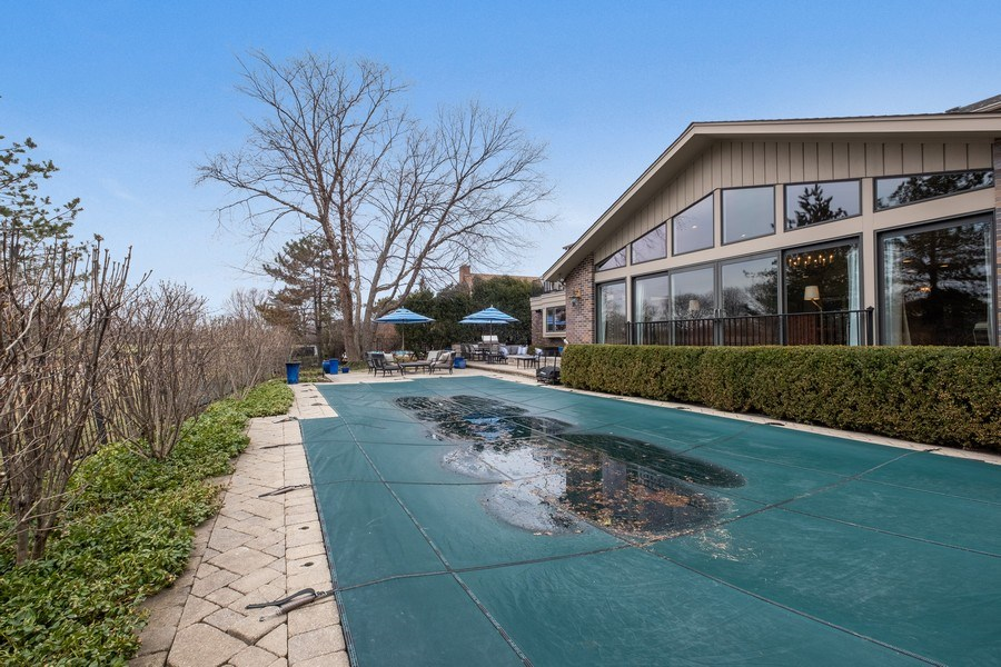 Real Estate Photography - 3605 Pebble Beach, Northbrook, IL, 60062 - Pool