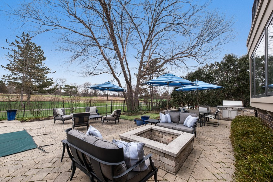 Real Estate Photography - 3605 Pebble Beach, Northbrook, IL, 60062 - Patio