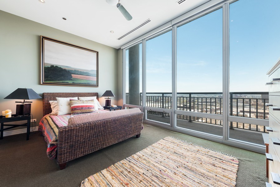 Real Estate Photography - 701 S Wells St, Chicago, IL, 60607 - 2nd Bedroom