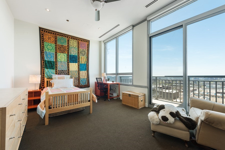 Real Estate Photography - 701 S Wells St, Chicago, IL, 60607 - 3rd Bedroom