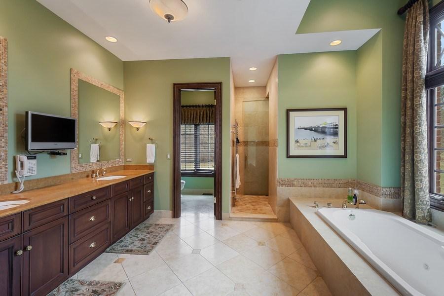 Real Estate Photography - 61 Brinker Rd, Barrington Hills, IL, 60010 - Master Bathroom
