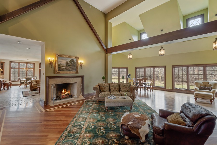 Real Estate Photography - 61 Brinker Rd, Barrington Hills, IL, 60010 - Great room