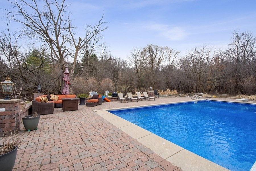 Real Estate Photography - 61 Brinker Rd, Barrington Hills, IL, 60010 - Pool