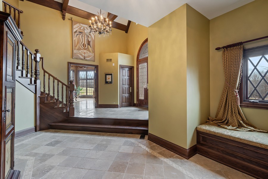Real Estate Photography - 61 Brinker Rd, Barrington Hills, IL, 60010 - Foyer