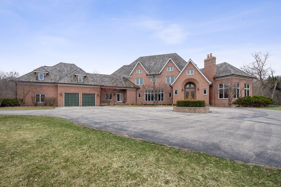 Real Estate Photography - 61 Brinker Rd, Barrington Hills, IL, 60010 - Front View