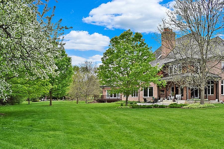 Real Estate Photography - 61 Brinker Rd, Barrington Hills, IL, 60010 - Back Exterior