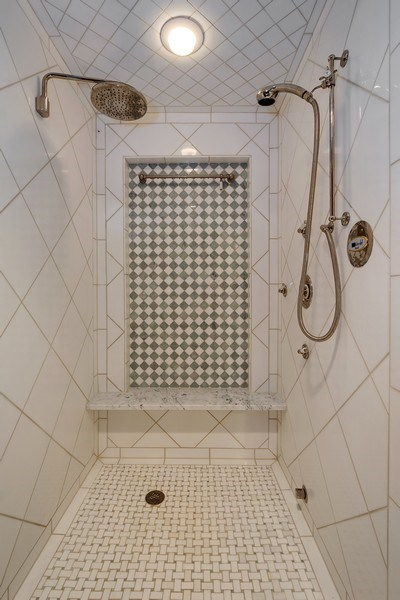 Real Estate Photography - 61 Brinker Rd, Barrington Hills, IL, 60010 - 2nd Bathroom