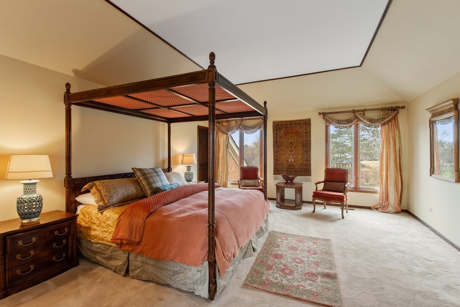 Real Estate Photography - 20627 N Meadow Ln, Deer Park, IL, 60010 - Master Bedroom