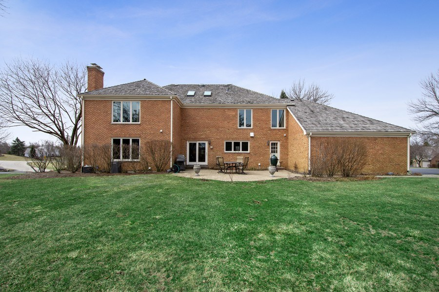 Real Estate Photography - 20627 N Meadow Ln, Deer Park, IL, 60010 - Rear View