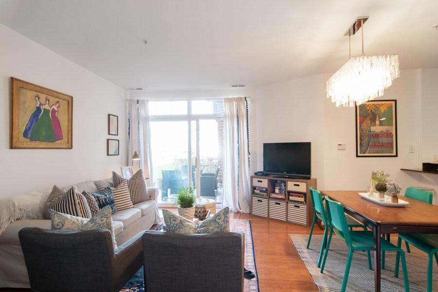 Real Estate Photography - 7753 W Van Buren, Unit 210, Forest Park, IL, 60130 - Living Room