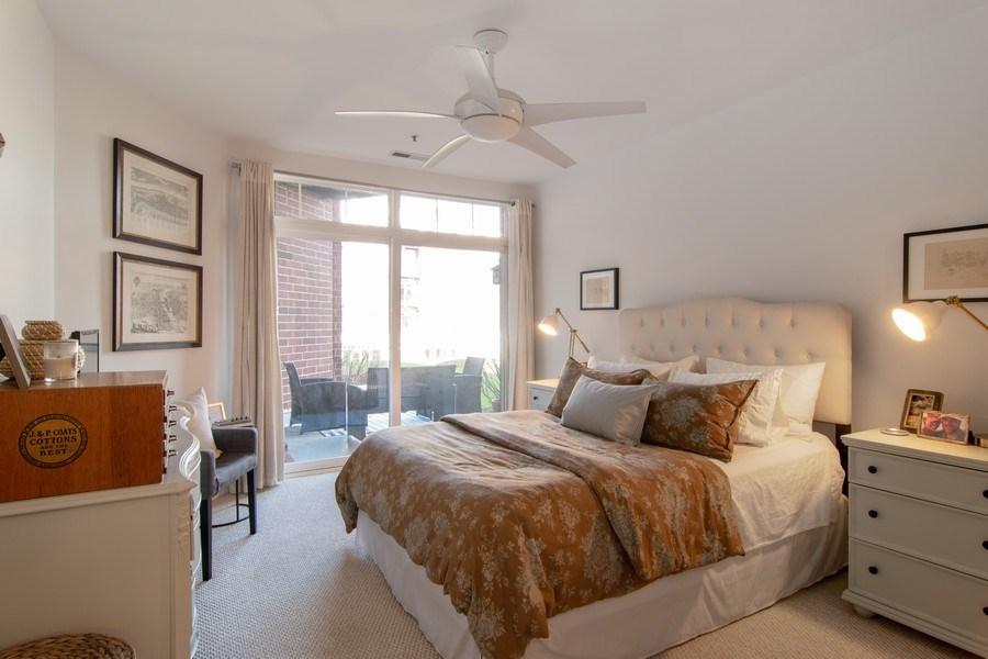 Real Estate Photography - 7753 W Van Buren, Unit 210, Forest Park, IL, 60130 - Master Bedroom