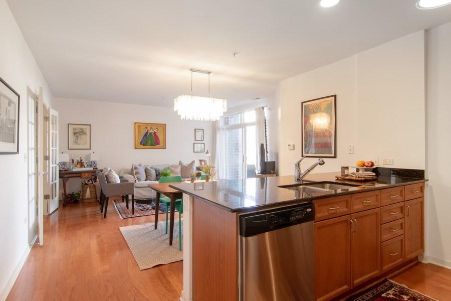 Real Estate Photography - 7753 W Van Buren, Unit 210, Forest Park, IL, 60130 - Kitchen