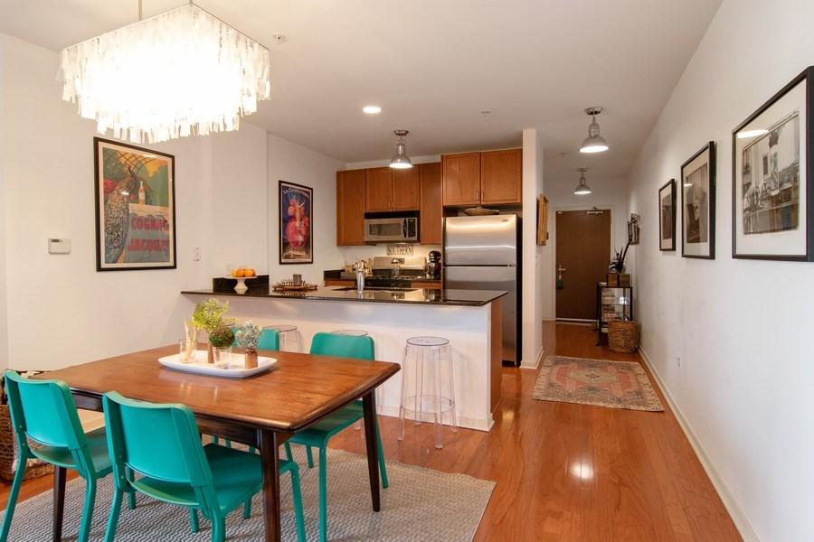 Real Estate Photography - 7753 W Van Buren, Unit 210, Forest Park, IL, 60130 - Dining Room