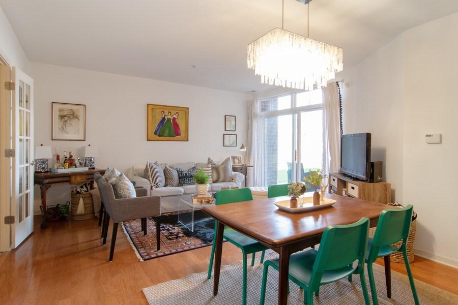 Real Estate Photography - 7753 W Van Buren, Unit 210, Forest Park, IL, 60130 - Living Room / Dining Room