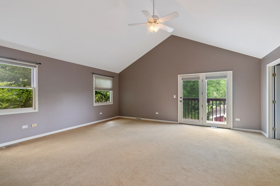 Real Estate Photography - 316 Nuttall Rd, Riverside, IL, 60546 - Master Bedroom