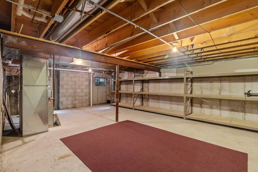 Real Estate Photography - 316 Nuttall Rd, Riverside, IL, 60546 - Basement
