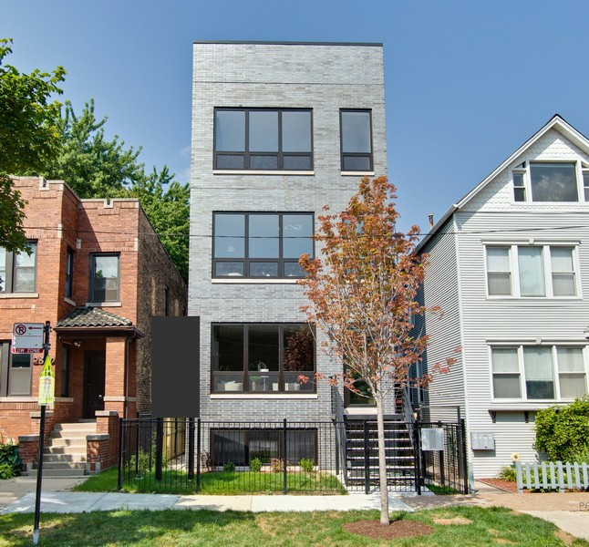 Real Estate Photography - 2302 North Hoyne Avenue, 2, Chicago, IL, 60647 - Exterior