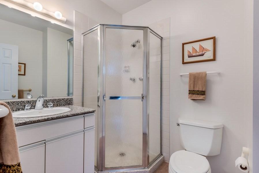 Real Estate Photography - 2029 Colfax, Evanston, IL, 60201 - 3rd Bathroom