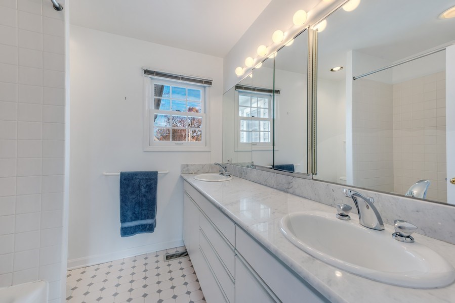 Real Estate Photography - 2029 Colfax, Evanston, IL, 60201 - Master Bathroom
