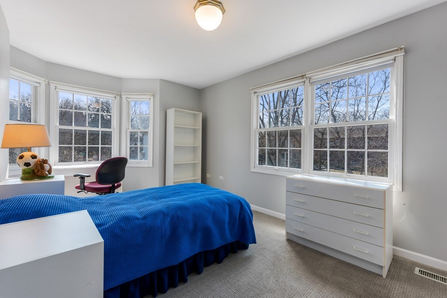 Real Estate Photography - 2029 Colfax, Evanston, IL, 60201 - 2nd Bedroom