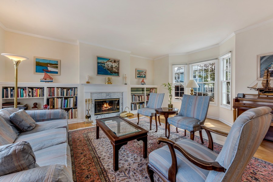 Real Estate Photography - 2029 Colfax, Evanston, IL, 60201 - Living Room