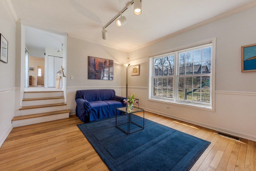 Real Estate Photography - 2029 Colfax, Evanston, IL, 60201 - First Floor Family Room