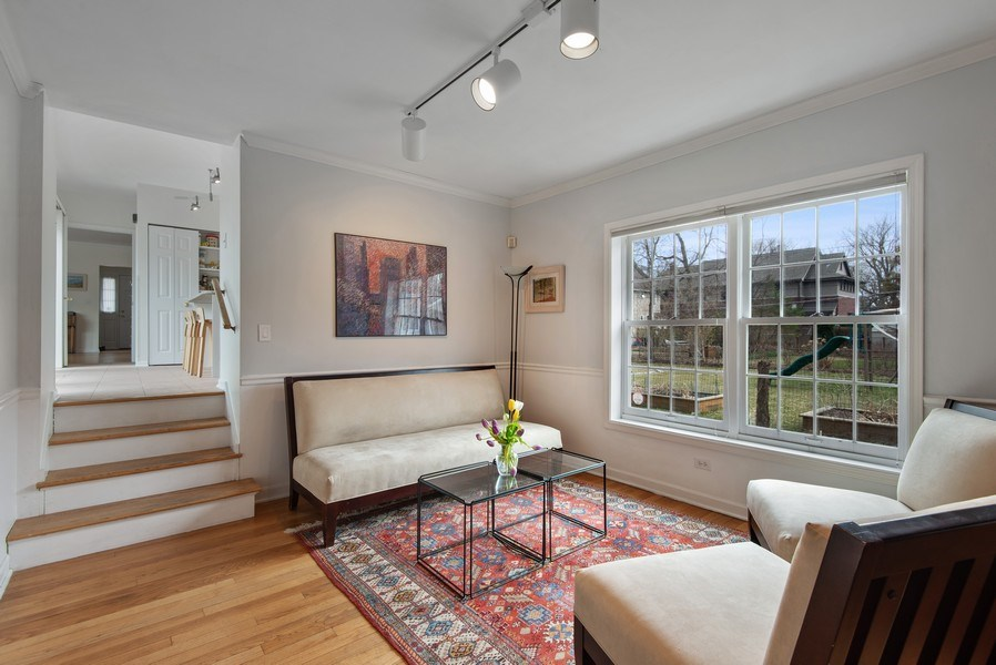 Real Estate Photography - 2029 Colfax, Evanston, IL, 60201 - Family Room