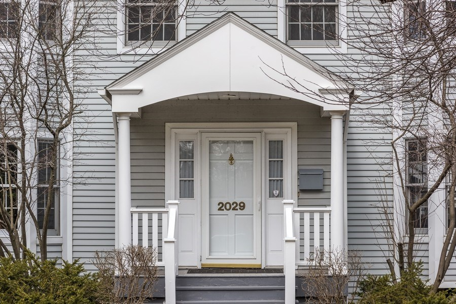 Real Estate Photography - 2029 Colfax, Evanston, IL, 60201 - Front entrance