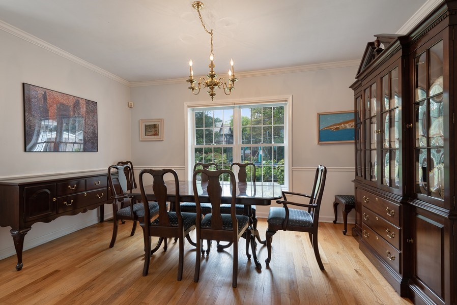 Real Estate Photography - 2029 Colfax, Evanston, IL, 60201 - Dining Room