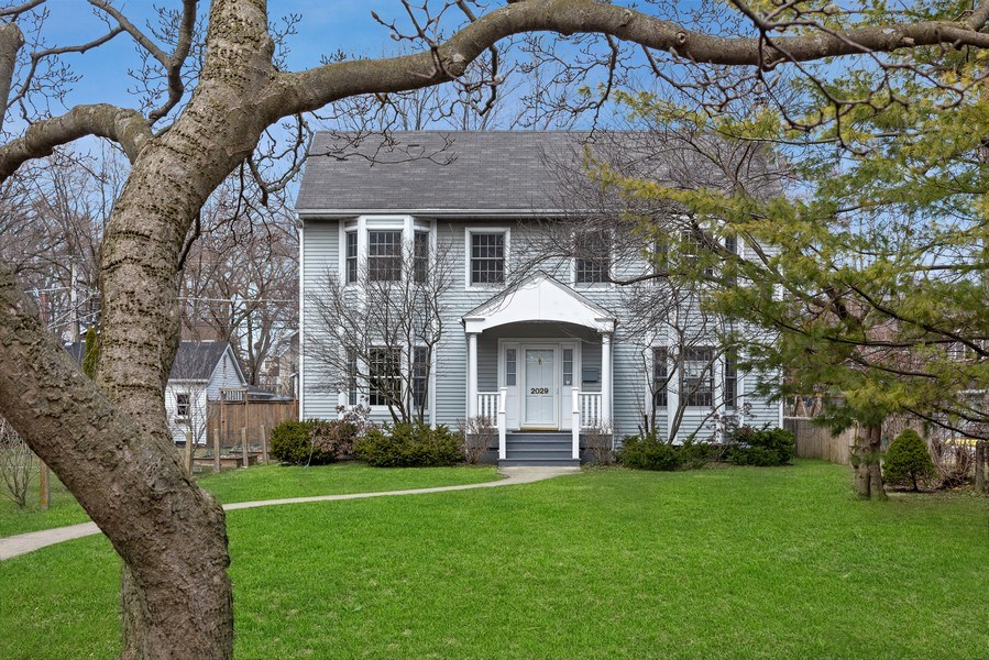 Real Estate Photography - 2029 Colfax, Evanston, IL, 60201 - Front View