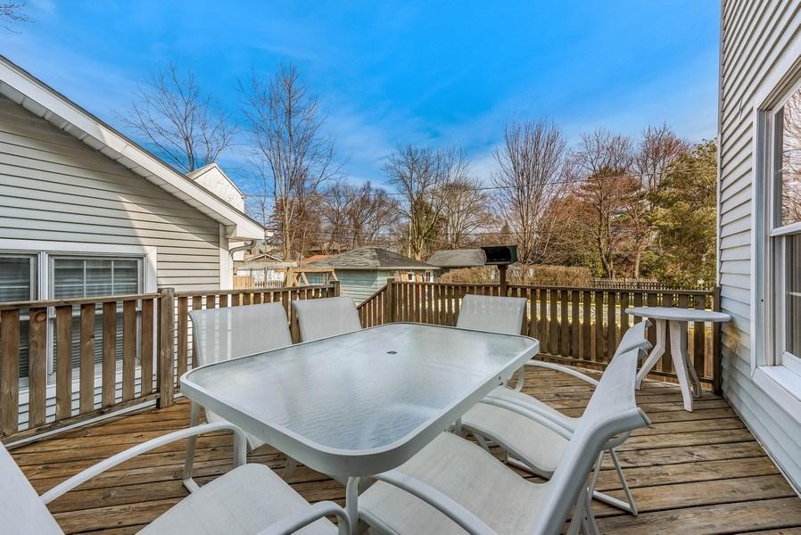 Real Estate Photography - 2029 Colfax, Evanston, IL, 60201 - Deck