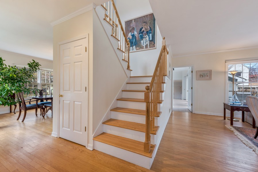Real Estate Photography - 2029 Colfax, Evanston, IL, 60201 - Staircase